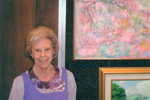 Rose Marcus Tobey Art Exhibit Opening