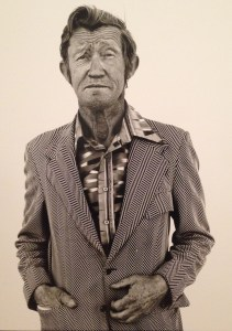 Richard Avedon, Carl Hoefert, unemployed blackjack dealer, 1983
