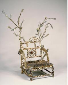 Betye Saar, Ancestral Spirit Chair, 1992