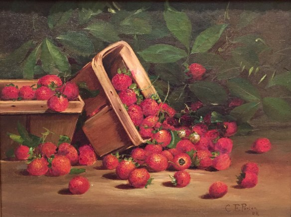 Charles Ethan Porter, Strawberries, 1888, oil on canvas
