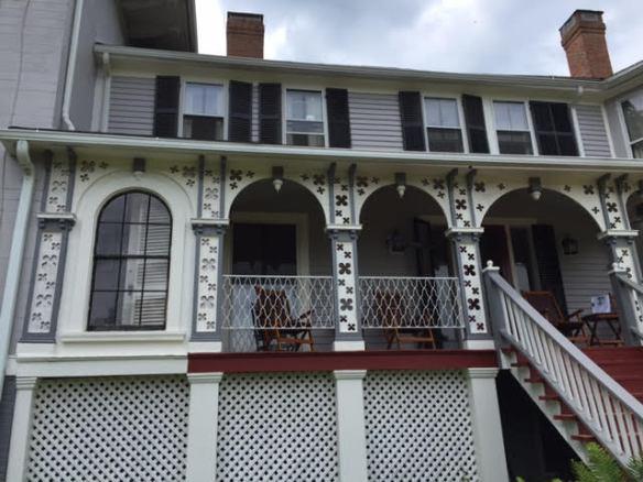 Weir House decorative facade
