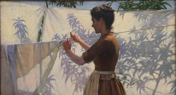 Charles Courtney Curran, Shadow Decoration, 1887, Vassar College Art Museum