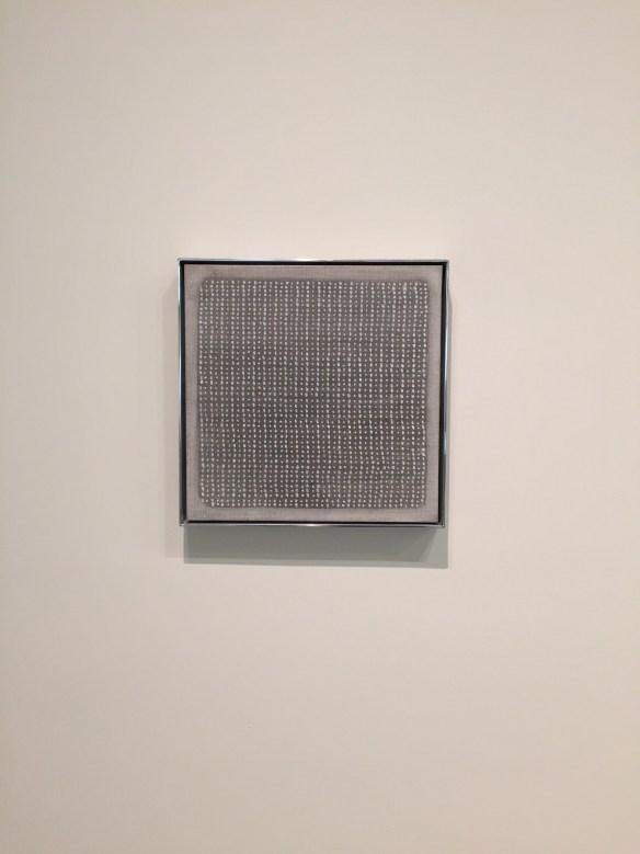 Untitled, 1960, looks like a textile