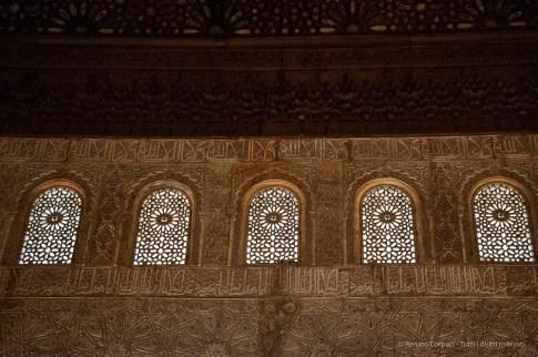 Alhambra, Granada, aprile 2015 - Nikon D300s, 38mm (16-85mm ƒ/3.5-5.6) 1/30sec ƒ/4.8 ISO 3200