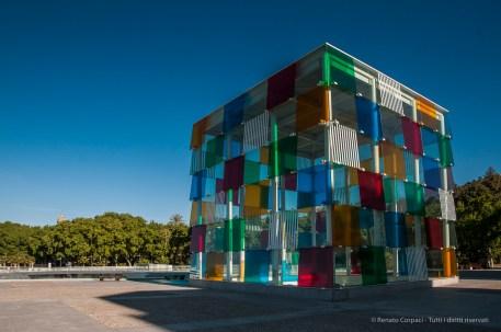 Centre Pompidou Malaga, 28 aprile 2015 - Nikon D300s, 16mm (16-85.0mm ƒ/3.5-5.6) 1/640sec ƒ/8 ISO 200