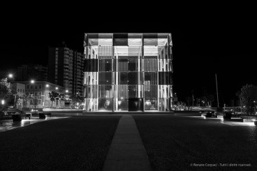 Centre Pompidou Malaga, 28 aprile 2015 - Nikon D810, 34mm (24-70.0mm ƒ/2.8) 2.0sec ƒ/5.6 ISO 64