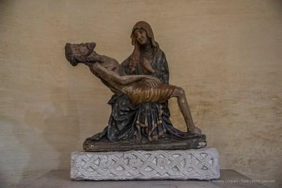 "Aquileia, Duomo. ""Pietà"". Nikon D810, 24 mm (24-120.0 mm ƒ/4) 1/125 sec ƒ/4 ISO 6400"