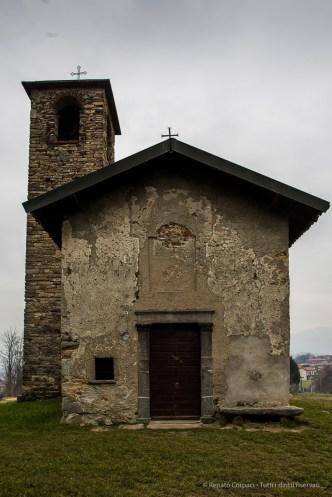 Garbagnate Monastero, Chiesa di S. Martino. Nikon 810, 24 mm (24.0 mm ƒ/1.4) 1/25 sec ƒ/8 ISO 64