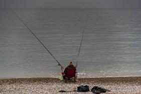 "Villeneuve Loubet, Fisherman on the beach of Villeneuve Loubet. Nikon D810, 120 mm (24-120,0 mm ƒ/4) 1/160"" ƒ/4 ISO 64"