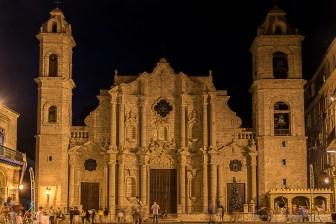 "Catedral de San Cristóbal in Habana Vieja. Nikon D810, 46 mm (24-120.0 ƒ/4) 0,6"" ƒ/5 ISO 200."