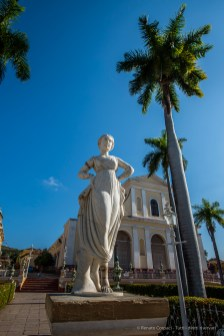 "Trinidad, Plaza Mayor with the Santisima Trinidad in the background. Nikon D810, 20 mm (20.0 ƒ/1.4) 1/200"" ƒ/8 ISO 64"