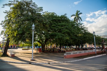 """Parque Maxímo Gomez, Remedios. Nikon D810, 24 mm (24-120.0 ƒ/4) 1/200"""" ƒ/6.3 ISO 125"""