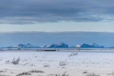 "Vestmannaeyjar islands viewed from Seljalandsfoss. Nikon D750, 185 mm (80-400.0 mm ƒ/4.5-5.6) 1/200"" ƒ/6.3 ISO 100"