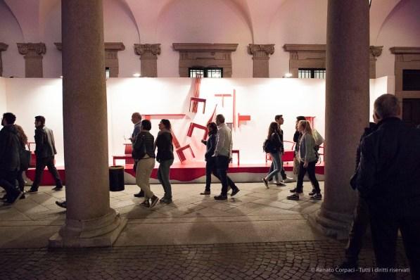 """Università Statale di Milano, """"Open Borders"""" by Interni Magazine. Nikon D810 24mm (24 mm ƒ/1.4) 1/320 ƒ/3.2 ISO 12800"""
