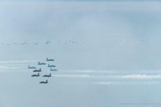 Air show. Manerba, Lake Garda 2016. Nikon D750, 400 mm (80-400.0 mm ƒ/4.5-5.6) 1/1600 ƒ/16 ISO 1000
