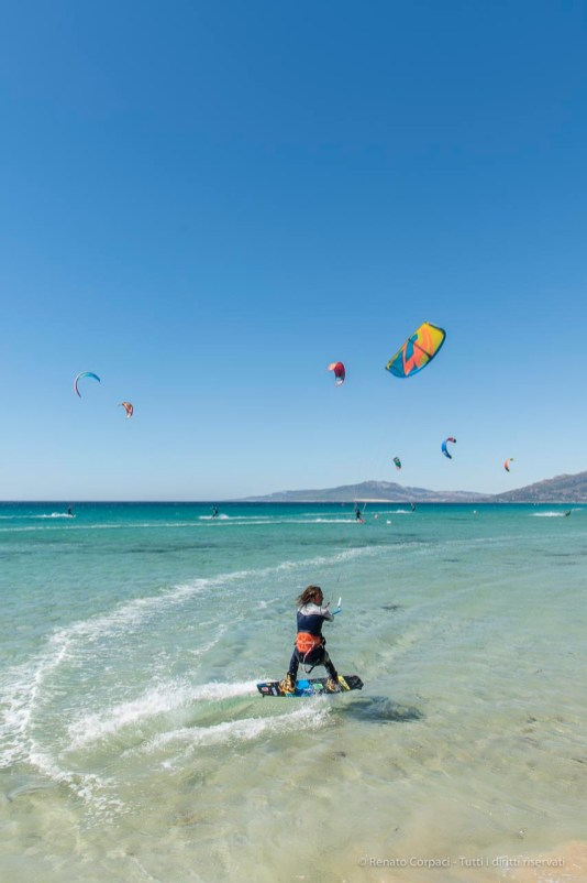 """The Only Game in Town: surfing in Tarifa. Nikon D810, 24 mm (24-120,0 mm ƒ/4) 1/200"""" ƒ/8 ISO 64"""
