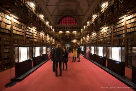 "Biblioteca Ambrosiana, Sala Federiciana. Nikon D750, 15 mm (14-24.0 mm ƒ/2.8) 0,6"" ƒ/4 ISO 640"