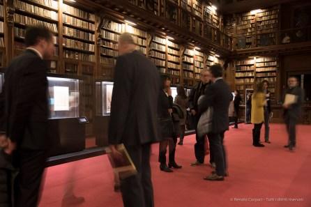 "Biblioteca Ambrosiana, Sala Federiciana. Nikon D750, 24 mm (24-120 mm ƒ/4) 0,6"" ƒ/4 ISO 640"