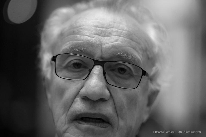 Giovanni Bazoli, president emeritus of Italian bank Intesa Sanpaolo