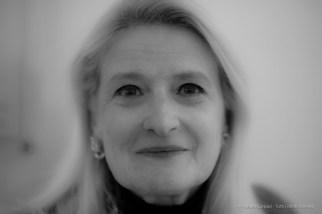 "Ada Masoero, curator of the exhibit dedicated to Arnaldo Pomodoro. Milano, November 2016. Nikon D750, 85 mm (85,0 mm ƒ/1.4) 1/160"" ƒ/1.4 ISO 200"