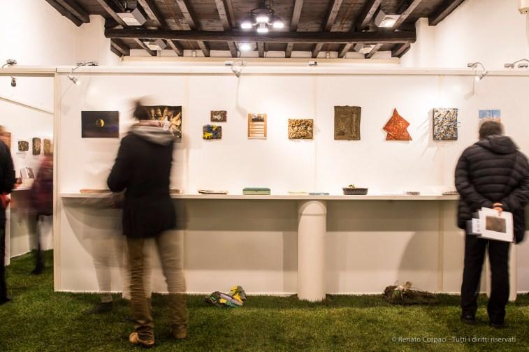 """Terra/Materiaprima - Mail Art project – Galleria di Arti Visive dell'Università del Melo, December 2016. Nikon D750 24 mm (24.0 mm ƒ/1.4) 1"""" ƒ/8 ISO 100"""