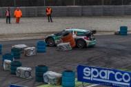 "Marco Bonanomi and Luigi Pirollo on a Citroen DS3 WRC 1.6, third at the Monster Energy Monza Rally Show 2016. Nikon D810, 120 mm (24-120.0 mm ƒ/4) 1/500"" ƒ/8 ISO 2500"