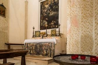 "St. Charles Borromeo worshipping the Holy Trinity. Somasassa, Valtellina, church of San Gottardo, XVIII Century. Nikon D810, 24 mm (24 mm ƒ/1.4) 2.5"" ƒ/14 ISO 64"