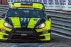 """Valentino Rossi and Carlo Cassina winners of the Monster Energy Monza Rally Show 2016. on a Ford Fiesta WRC 1.6. Nikon D810, 400 mm (80-400.0 mm ƒ/4.5-5.6) 1/800"""" ƒ/6.3 ISO 2500"""
