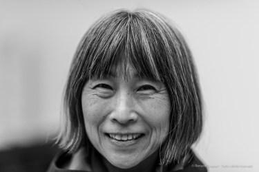 Yoshie Nishikawa, photographer, Milano, February 2017. Nikon D810, 85 mm (85.0 mm ƒ/1.4) 1/125 ƒ/1.4 ISO 64