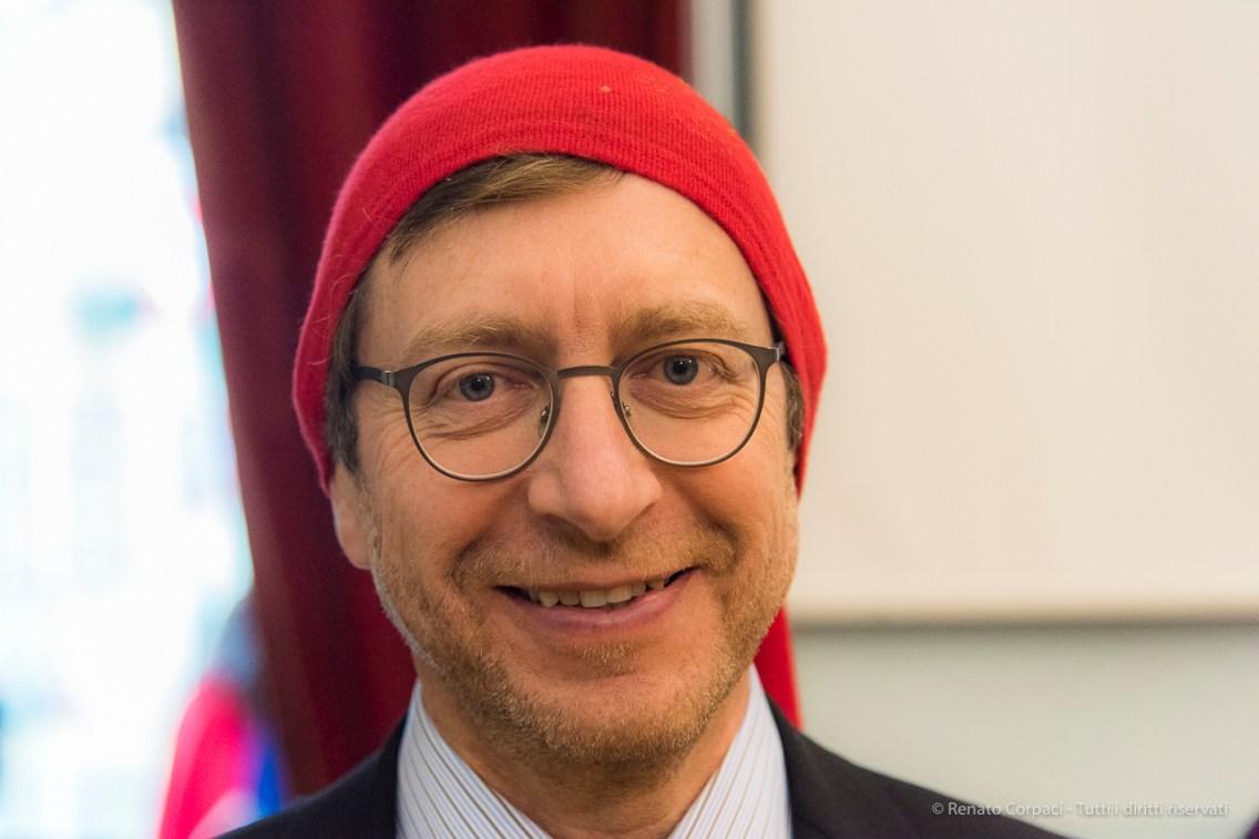 """Carlo Della Pepa, mayor of Ivrea, February 2017. Nikon D810, 85 mm (24-120 mm ƒ/4) 1/125"""" ƒ/4 ISO 6400"""