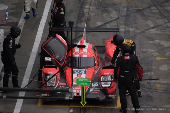 """Oreca 07-Gibson during pit-stop and change of driver. Nikon D750, 500 mm (200-500.0 mm ƒ/5.6) 1/1250"""" ƒ/8 ISO 1600"""