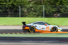"Porsche 911 RSR (991) with Michael Wainwright at the wheel. Nikon D810, 250 mm (80-400.0 mm ƒ/4.5-5.6) 1/160"" ƒ/11 ISO 64"