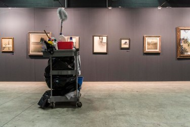 Unintentional Artwork Grand Art fair, Milano, November 2017. Nikon D810, 24 mm 24-120.0 mm ƒ/4) 1/125 ƒ/5.6 ISO 5000