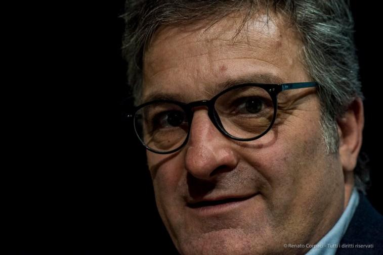Carlo Morfini, general manager, Fondazione Triennale di Milano. April 2018. Nikon D810, 85 mm (85 mm ƒ/1.4) 1/125 ƒ/5 ISO 12800