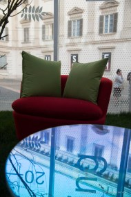 Living Nature by Carlo Ratti at the Milano Design Week, four seasons performance.