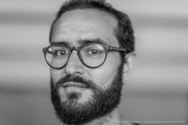 "Luca Rotondo, photographer. Milano, April 2018. Nikon D810, 85 mm (85 mm ƒ/1.4) 1/125"" ƒ/4 ISO 720"