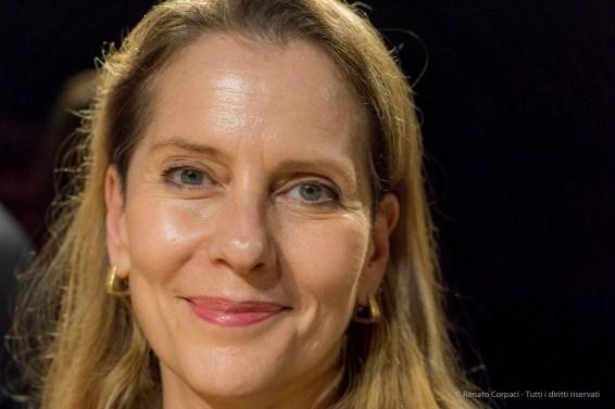 Paola Antonelli, curator XXII Esposizione Internazionale della Triennale di Milano. April 2018. Nikon D810, 85 mm (24-120 mm ƒ/4) 1/160 ƒ/5 ISO 12800