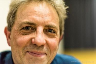 Stefano Gervasoni, composer. Torino, April 2018. Nikon D810, 85 mm (85 mm ƒ/1.4) 1/160 ƒ/1.4 ISO 1100