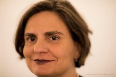 "Angela Madesani, art historian, critic, curator, author. Aosta, April 2018. Nikon D810, 85 mm (85 mm ƒ/1.4) 1/125"" ƒ/1.4 ISO 900"
