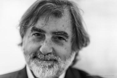 "Gianluigi Colin, art director with Corriere Della Sera, artist. Milano, May 2018. Nikon D810, 85 mm (85 mm ƒ/1.4) 1/125"" ƒ/1.4 ISO 1000"