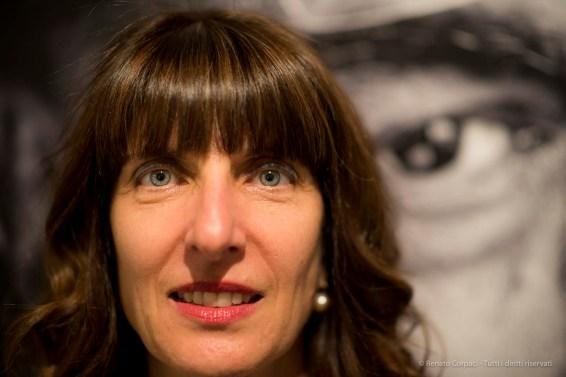 """Raffaella Resch, curator, producer. Aosta, April 2018. Nikon D810, 85 mm (85 mm ƒ/1.4) 1/125"""" ƒ/1.4 ISO 800"""