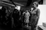 "Furor Corporis, Performance in the M.A.C. (Musica Arte Cultura) gallery in Milano, June 2018. Nikon D850, 24 mm (24-120 mm ƒ/4) 1/125"" ƒ/4 ISO 12800"