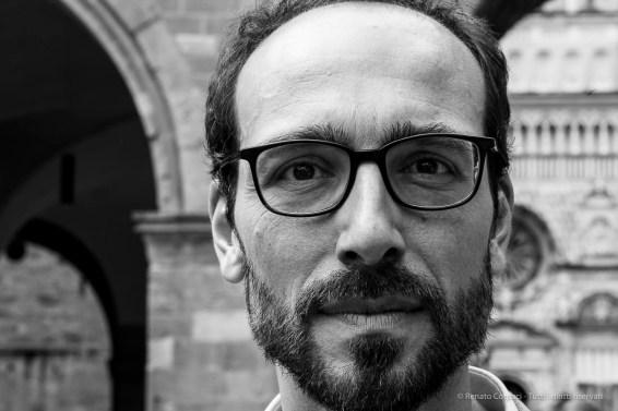 "Lorenzo Giusti, director GAMeC Bergamo. June 2018. Nikon D810, 85 mm (85 mm ƒ/1.4) 1/125"" ƒ/16 ISO 560"