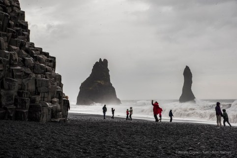 Reynisdrangar, Reynisfjara Beach and the Troll Rocks. Nikon D810, 70 mm (24-120.0 mm ƒ/4) 1/60 sec ƒ/16 ISO 64