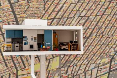 "An installation inside the Padiglione Italia in the Giardini of the 16. Biennale Architettura. Venice, September 2018. Nikon D810, 52 mm (24-120 mm ƒ/4) 1/200"" ƒ/4 ISO 250"