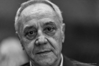 Gianni Mercurio, art critic, curator. Milano, September 2018. Nikon D810, 85 mm (85 mm ƒ/1.4) 1/125 mm ƒ/1.4 ISO 2200
