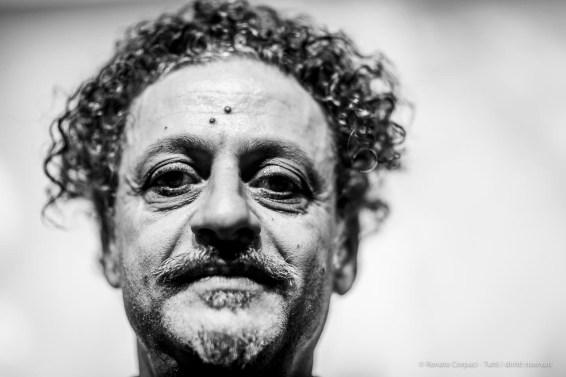 "Ali Hassoun, artist. Milano, October 2018. Nikon D810, 85 mm (85 mm ƒ/1.4) 1/125"" ƒ/1.4 ISO 125"