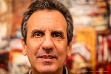 "James Rubin, art dealer. Milano, November 2018. Nikon D810, 85 mm (85 mm ƒ/1.4) 1/125"" ƒ/1.4 ISO 200"