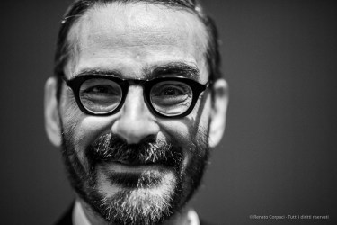 "Michele Dantini, contemporary art historian, critic, essayist, curator. Milano, October 2018. Nikon D810, 85 mm (85 mm ƒ/1.4) 1/125"" ƒ/1.4 ISO 3200"