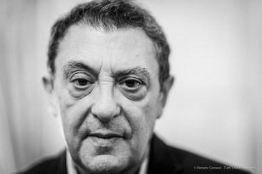 "Fulvio Irace, architect, architecture historian, scholar. Milano, December 2018.. Nikon D810, 85 mm (85 mm ƒ/1.4) 1/125"" ƒ/1.4 ISO 500"